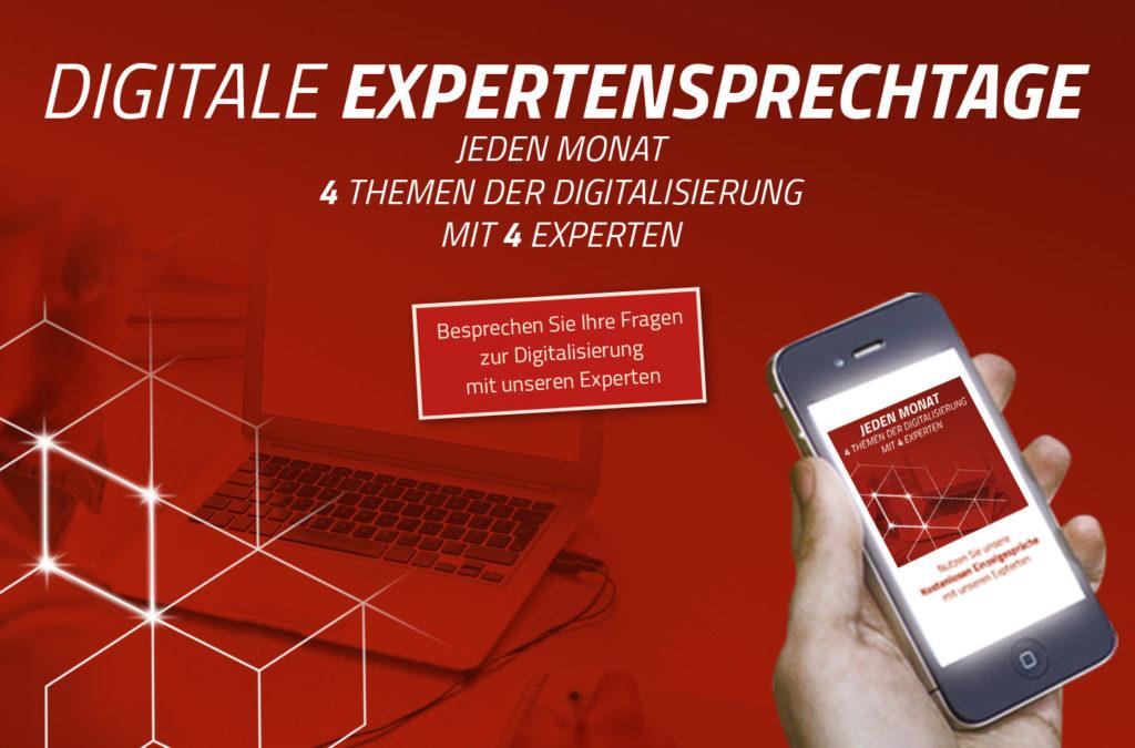 kostenlos, Digitalisierungsberatung, Fragen zum Thema Digitalisierung, Expertengespräche, kostenlose Beratung
