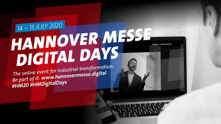 banner hannover messe digital days 2020