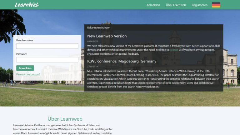 Website learnweb