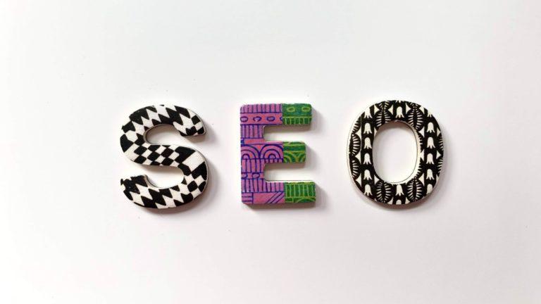 SEO Buchstaben