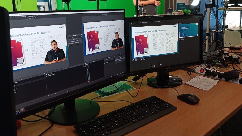 Die digitale Alternative: Die Doepke Schaltgeräte GmbH ist mit Online-Seminaren erfolgreich