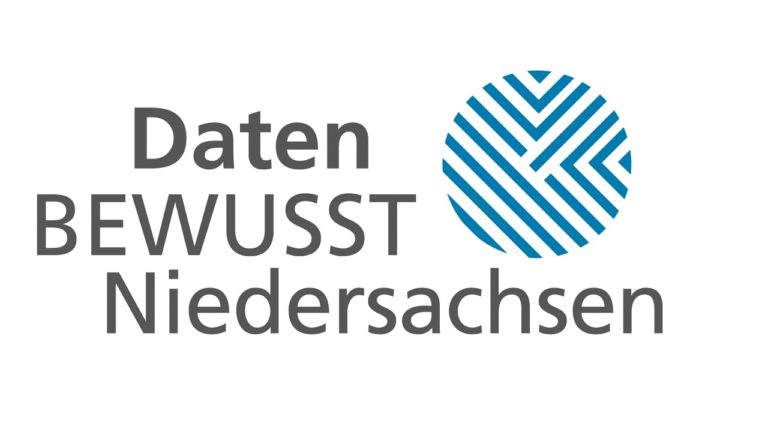 Logo DatenBEWUSST Niedersachsen - Niedersachsens Label für mehr Datensicherheit