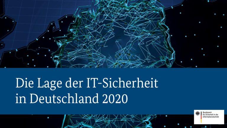 bsi veröffentlicht lagebericht zur cybersicherheit in deutschland 2020
