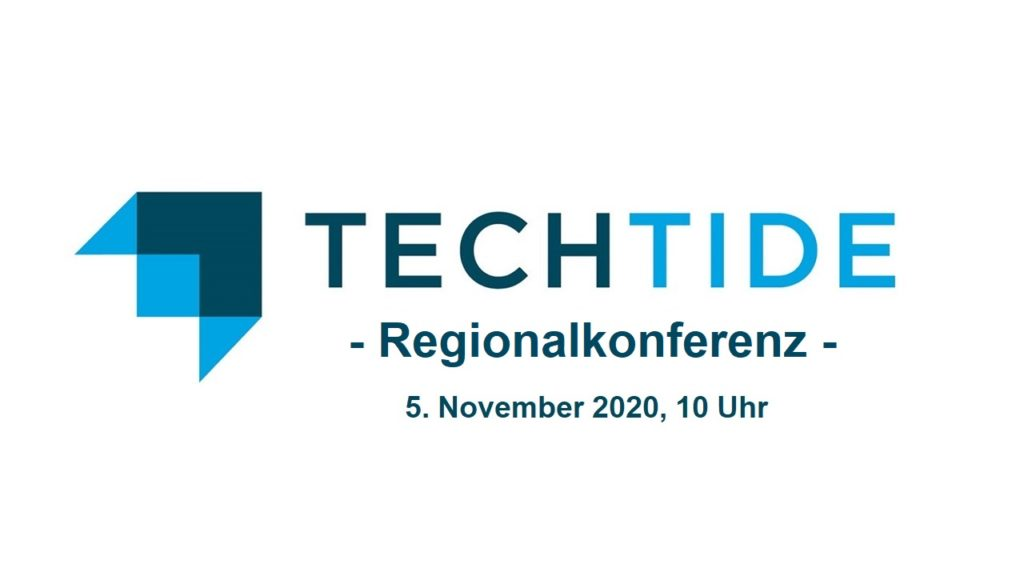 techtide regionalkonferenz am 5. november 2020 zum thema Innovation, Technology & Care