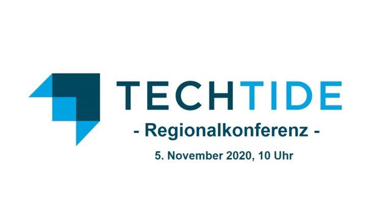 techtide regionalkonferenz am 5. november 2020 zum thema Innovation, Technology & Care