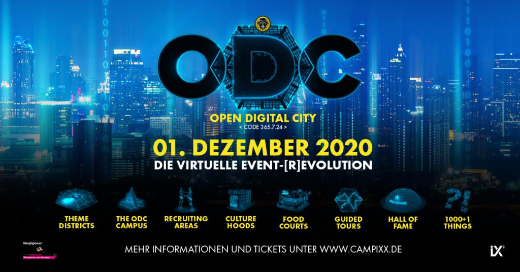 """Marketing-Event-Stadt """"ODC"""" virtuell erleben!"""