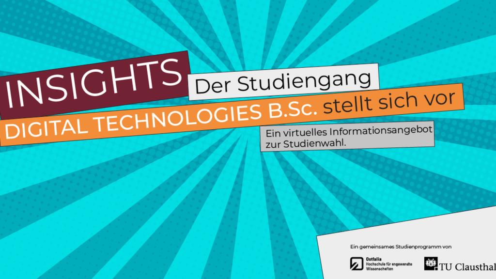 Digital Technologies: Der Studiengang