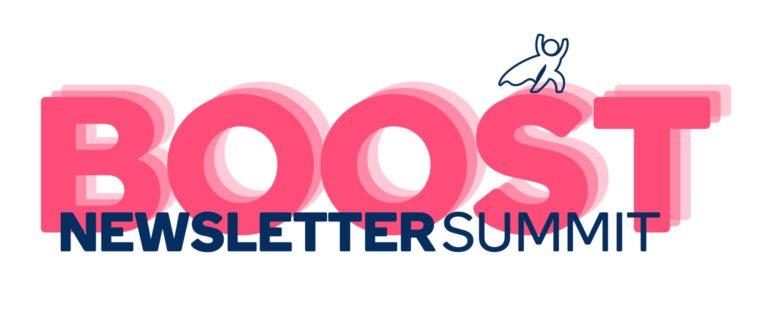 Newsletter Boost Summit